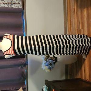 NWT Clavin Klein maxi dress